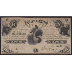 5 forint 1852