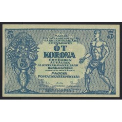 5 korona 1919 - HAJTATLAN