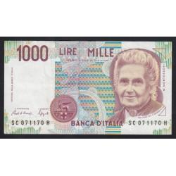 1000 lire 1990