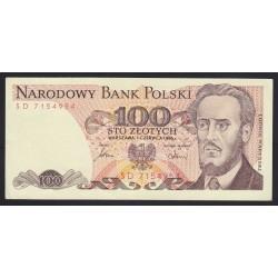 100 zlotych 1986