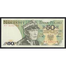 50 zlotych 1988