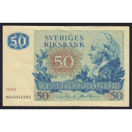 50 kronor 1989