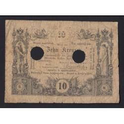 10 kreutzer 1860 - ÉRVÉNYTELENÍTETT