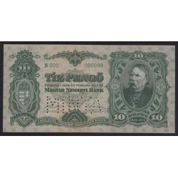 10 pengõ 1929 - MINTA