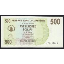 500 dollars 2007