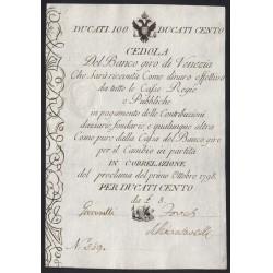 100 ducati 1798 - Velence Habsburg megszállása