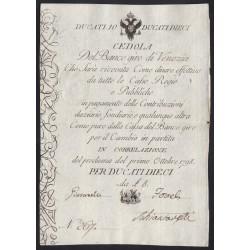 10 ducati 1798 - Velence Habsburg megszállása