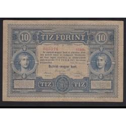 10 forint/gulden 1880