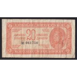 20 dinara 1944