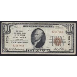 10 dollars 1929 - New York