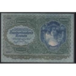 100.000 kronen 1922