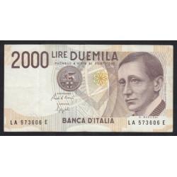 2000 lira 1990