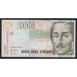 2000 pesos 2014