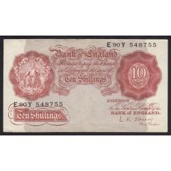 10 shillings 1955