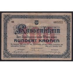 100 kronen 1918 - Wien