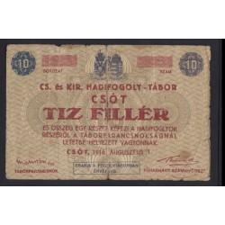10 fillér/heller 1916 - Csót