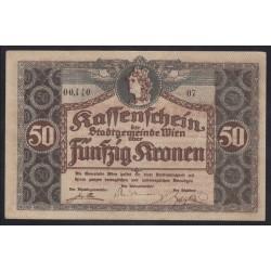50 kronen 1916 - Wien