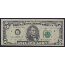 5 dollars 1969