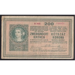 200 korona 1918