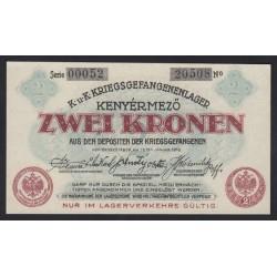 2 korona/kronen 1916 - Kenyérmező