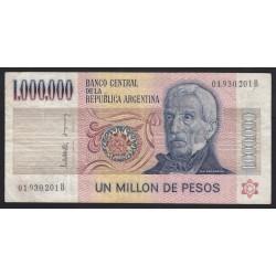 1.000.000 pesos 1983