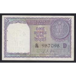 1 rupee 1957