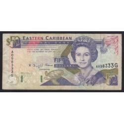 50 dollars 1993 - Grenada