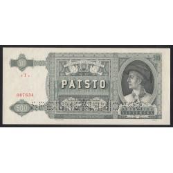 500 korun 1941 - SPECIMEN