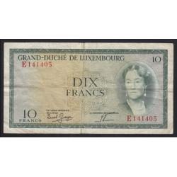 10 francs 1954