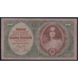 50000 kronen 1922