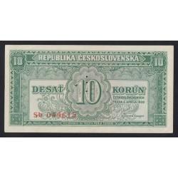 10 korun 1950 - SPECIMEN