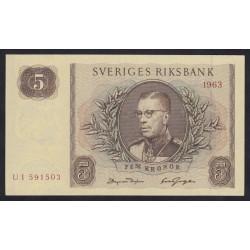 5 kronor 1963