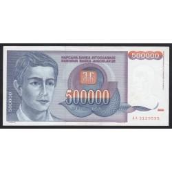 500.000 dinara 1993