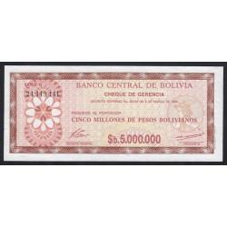 5 million bolivinaos 1985