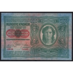 100 kronen 1920