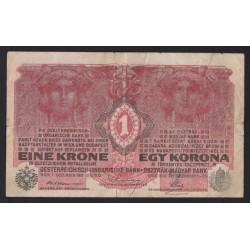 1 kronen/korona 1916 - 7000 FELETTI SORSZÁM