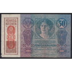 50 kronen/korona 1919