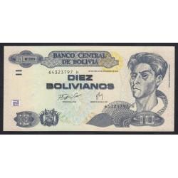 10 bolivianos 2007