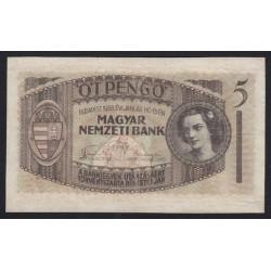 5 pengõ 1938