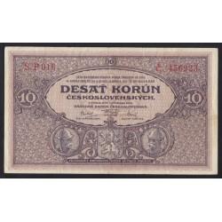10 korun 1927 - Série P