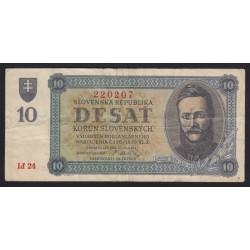 10 korun 1943