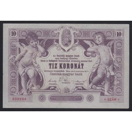 10 kronen/korona 1900