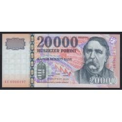 20000 forint 1999 GE - Alacsony SORSZÁM