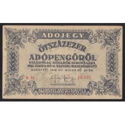 500.000 adópengõ 1946 - SORSZÁMOS