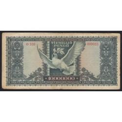 10.000.000 pengő 1945 - ALACSONY SORSZÁM