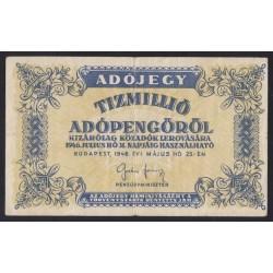 10.000.000 adópengő 1946