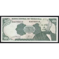 20 bolivares 1989