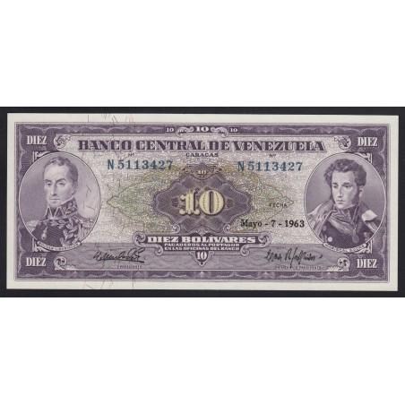 10 bolivares 1963
