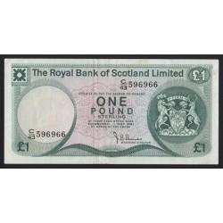 1 pound 1981 - Royal Bank of Scotland