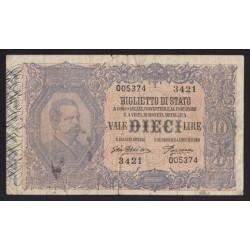 10 lire 1918